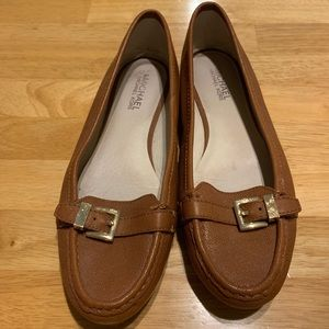 Michael Kors Brown Loafers Size 10